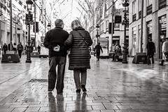 walking together (Gerard Koopen) Tags: spanje spain españa malaga city urban straat street straatfotografie streetphotography streetlife people woman man walking together bw blackandwhite blackandwhiteonly sony sonyalpha a7iii beautiful 2019 gerardkoopen gerardkoopenphotography