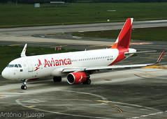 Airbus A320 Sharklet Avianca, PR-OCM (Antônio A. Huergo de Carvalho) Tags: airbus airbusa320 a320 sharklet avianca procm
