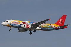 HS-BBA DMK 15.12.2018 (Benjamin Schudel) Tags: hsbba thai airasia air asia airbus a320 dmk bangkok thailand don muang