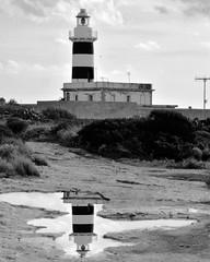 Cagliari Faro Sant'Elia (maurypisano) Tags: faro blackandwhite blackandwhitephotography biancoenero reflection riflesso photography photo
