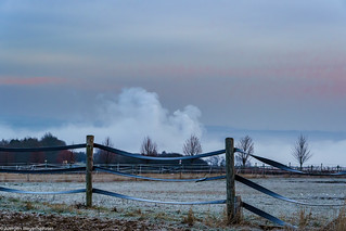 HFF - Fenced Friday -  Wintermorgen