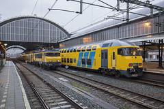 Geen weekendrust voor DDM-1 (Tim Boric) Tags: haarlem station trein train zug bahn spoorwegen railways ddm1 ns 1768 alstom