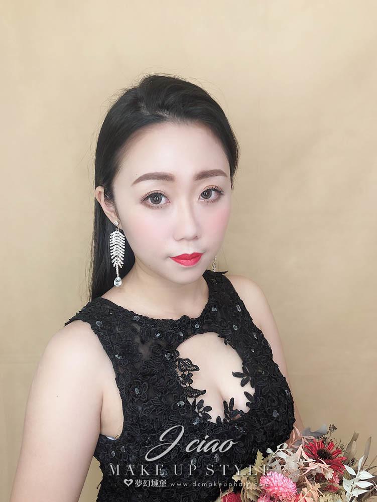 【新秘婕喬】新娘造型創作 / 時尚油頭造型