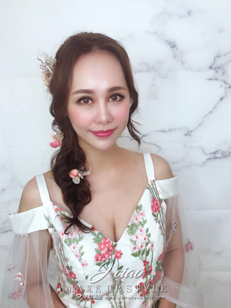 【新秘婕喬】新娘造型創作 / 仙女乾燥花