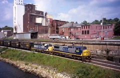 CSX 9000 (Fan-T) Tags: csx 9000 ge dash 9 kent ohio