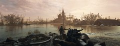"""Homecoming"" (HodgeDogs) Tags: photography textures water 4agames 4aengine church gaming games pc nvidia metroexodus explore sky"