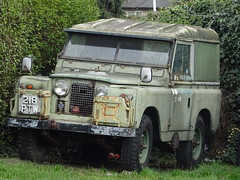 1959 Land Rover (Neil's classics) Tags: vehicle 1959 land rover landrover offroad wagon abandoned