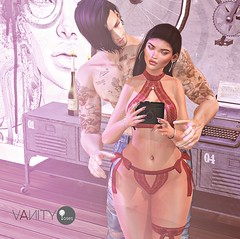 Vanity Poses - Flaws & All Ad (V ♪) Tags: cynful doux vanityposes vp posefair valentinesday coupleposes bentoposes virtualworld 3d romanticpose