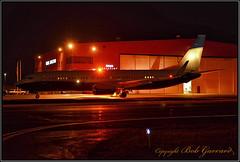 N502BJ Boeing Business Jets (Bob Garrard) Tags: n502bj boeing business jets 737 anc panc night strobe flash beacon