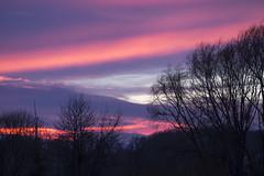 A colorful sunset (explored) (birgitmischewski) Tags: sunset colorful clouds sky