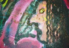 Graffiti (Bephep2010) Tags: 2019 gesicht kodakgold minolta minoltamd50mm114 minoltax700 photoexif schweiz solothurn switzerland winter x700 analog analogue face graffiti kantonsolothurn ch