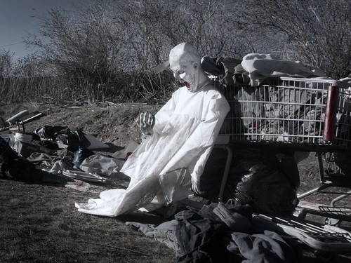 Ghoul Mannequin at Homeless Dump 1010 A
