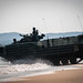 U.S. Marines conduct an assault amphibious vehicle splash during exercise Cobra Gold