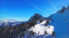 FRANCE - Alps (Jacques Rollet (Little Available)) Tags: france alps montblanc landscape mountain tree snow winter hiver groupenuagesetciel