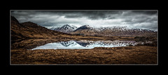 Rannoch Moor (tkimages2011) Tags: rannochmoor moor glencoe highlands scotland clouds loch water reflection mountains landscape outdoor outside snow harsh cold bleak wild
