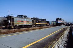 Orlando (jameshouse473) Tags: amtrak seaboard sbd system f40ph amtk 388 scl 01095 caboose 352 1985 u18b orlando florida fl railway railroad station depot