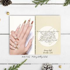 Ascendant - Merry Christmas Bento Nails [group gift] (Kah Melody | ASCENDANT) Tags: christmas decorative festive happyholidays holiday merrychristmas season winter ascendant groupgift belleza slink maitreya