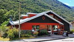 Wobbly Kea Cafe & Bar, Arthurs Pass, South Island, New Zealand (Black Diamond Images) Tags: wobblykea cafe wobblykeacafebar arthurspass arthurspassnz christchurchtoarthurspass southisland newzealand nz nztravel nz2015 greatalpineway craigeburn arthurspasstohokitika selwyndistrict selwyn arthurspassnationalpark