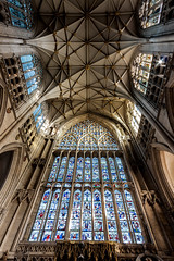 Great East Window (Derwisz) Tags: englishgothic minster yorkminster architecture buildings cathedral church gothic lowpov lowangleofview medieval sacral sacred stainedglass york northyorkshire unitedkingdom greateastwindow