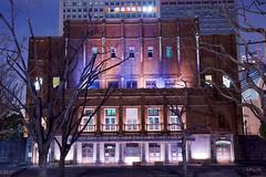 日比谷公会堂 Hibiya Public Hall (ELCAN KE-7A) Tags: 日本 japan 東京 tokyo 千代田区 chiyoda 日比谷 hibiya 公会堂 public hall ライトアップ イルミネーション illumination ペンタックス k3ii 2019