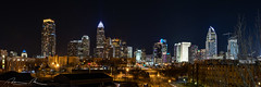Queen City HDR Panorama (McMannis Photographic) Tags: photography night urban panorama hdr longexposure highdynamicrange pano