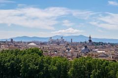 Summer in Rome (jansterino) Tags: rome roma italia italy monument city cityscape day daylight afternoon tree church travel turismo tourism mountain landscape nikon d3300 nikkor 1855 kitlens