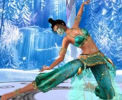 ARABIAN 3 (♛ MMV MISS SCOTLAND 2019) Tags: irrisistible shop arabian delilah mesh outfit clothes oriental fantasy sheherazad belly dancer
