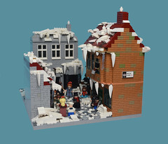 A Christmas Carol (MinifigNick) Tags: afol lego christmas ebenezerscrooge achristmascarol minifigures victorianlondon victorian street londonstreet xmas holidays minifignick charlesdickens