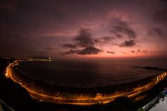 Oceano Pacifico (Estevesito) Tags: sunset pacificocean oceanopacifico larcomar lima peru colors sky