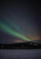 Aurora Borealis & Ursa Major (Gert Bex) Tags: lapland auroraborealis ursamajor