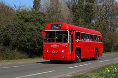 London Transport RF 537 - NLE 537 (Wandle 190) Tags: ltm ltmuseumcollection rf537 nle537 aec aecregaliv adms amershamdistrict londontransport
