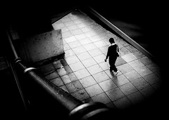 untitled--280 (Stevenchen912) Tags: streetphoto streetcandid streetscene streetfavorites decisivemoment depth candid cadid geometry geo composition contrast dark shadow inspired bw blackwhite alone