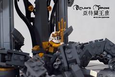Atlan's-Throne14 (BrickElviN) Tags: lego moc dc aquaman castle ruin throne trident
