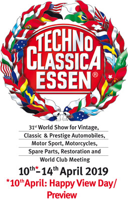 We invite you to visit us during Techno Classica in Essen.