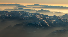 the breath of the alps (Sergey S Ponomarev) Tags: sergeysponomarev canon eos ef70200mmf4lisusm landscape paysage paesaggio landschaft alps europe morning dawn sunrise mist fog travel tourism italy italia 70d сергейпономарев горы альпы европа туризм самолет утро туман рассвет италия smoke snow neve clouds