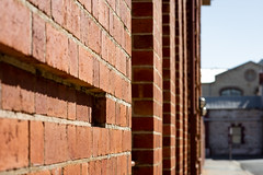 The wall (.Stephen..Brennan.) Tags: da70 fremantle pentax pentaxk3 streetscape 70mm perth westernaustralia australia au architecture