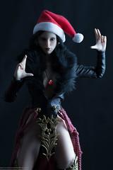 2018 Phicen/TBLeague Advent Calendar - Day 7 Outtake (edwicks_toybox) Tags: 16scale tbleague femaleactionfigure mage magicuser phicen raksa santahat seamlessbody tencent verycool