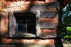 Old Mountain Cabin (lorinleecary) Tags: backintheday window cabin brasstown logcabin oldcabin johnccampbellfolkschool northcarolina