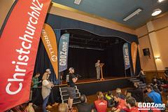 Christchurch Deputy Mayor Andrew Turne addressing GODZone teams
