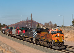 All (North) American (kobepeterson) Tags: fxe bcol bnsf arizona seligman flagstaff train