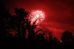 Red Sky (Christine Schmitt) Tags: red sky night firework newyear light
