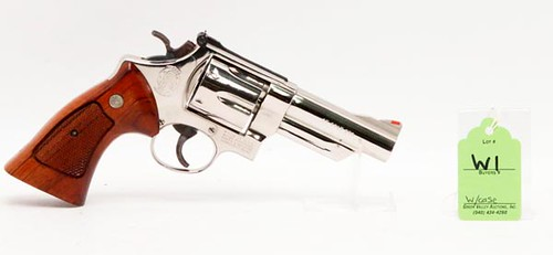 Smith & Wesson Model 25-5 Nickel Plated .45 ($784.00)