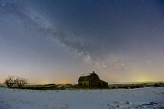 Milky Way March 10 5:07am (John Andersen (JPAndersen images)) Tags: abandoned alberta constellations mossleigh night sky stars