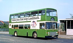 Eastern Scottish: LL138 (A138BSC) in Menteith Road, Motherwell (Mega Anorak) Tags: bus leyland olympian onlxb1r alexander easternscottish motherwell