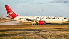 Virgin Atlantic | G-VWND | Airbus A330-223 | BGI (Terris Scott Photography) Tags: pw4168 aircraft airplane aviation plane spotting nikon d750 travel barbados jet jetliner virgin atlantic airbus a330 200 gatwick sky tamron 70200mm f28 di vc usd g2 grass