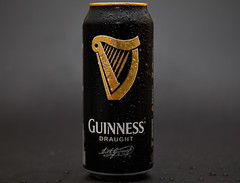 Guinness (Bernie Condon) Tags: guinness stout can draught beer studio flash black gold