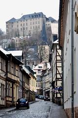 Blankenburg (r.wacknitz) Tags: blankenburg harz schloss altstadt fachwerk winter sachsenanhalt grey street castle