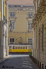 Tranvía 28 Carris (Lisboa)- Tram 28 Carris (Lisboa, Portugal( (RubenPascualLopez) Tags: lisboa lisbon trams tranvías tranvía
