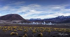 El Tatio at sunrise (marko.erman) Tags: eltatio southamerica latinamerica geyser andes highaltitude chile geothermal volcanic sunrise light steam beautiful sony vapour