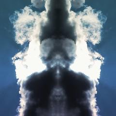 Creature (domenicaviehberger) Tags: wolkenspiel clouds sky kreativwork wesen illusion traum mystic spiegelung sureal bearbeitung treiben photography himmelskörper devil